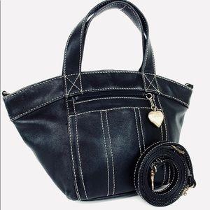MOSCHINO Heart Crossbody Shoulder Bag